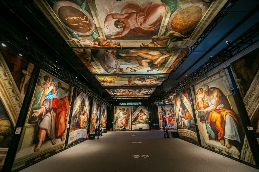 Michelangelo's Famous Sistine Chapel Has Arrived In Charlotte