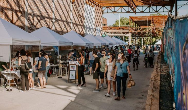 A List Of All The Delicious Eateries At The Innovative, Camp North End, To Enjoy All Year Long