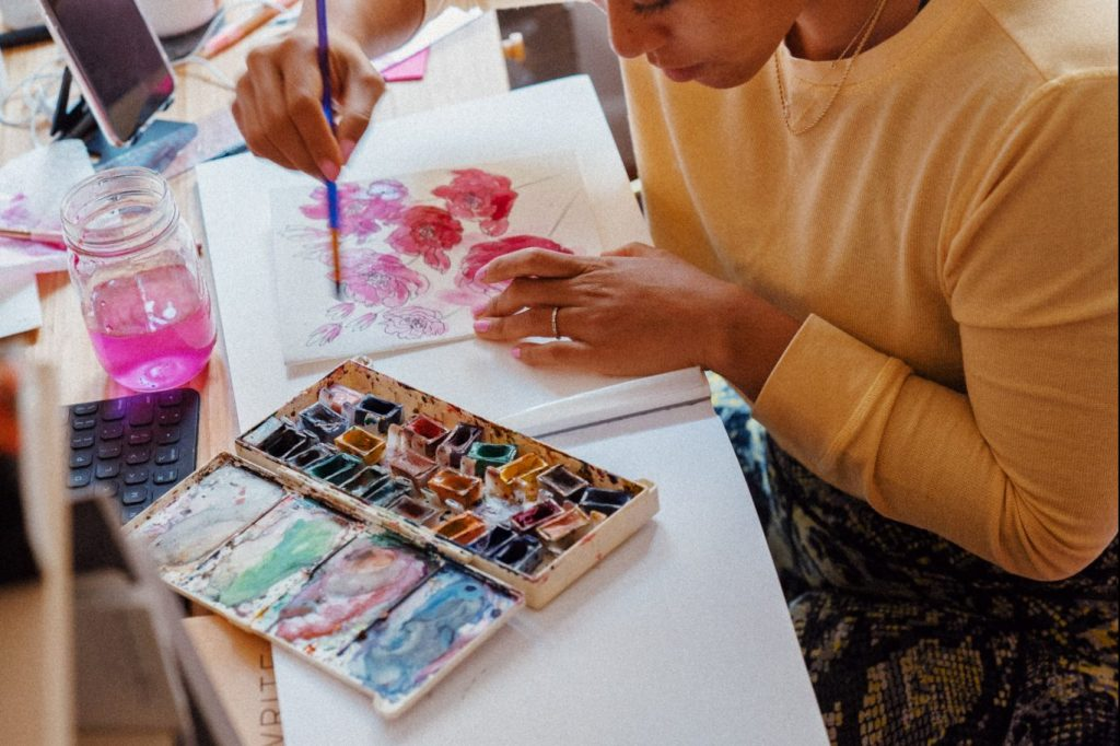Release Your Inner Artist At This Paint & Sip Event Tomorrow At Petty Thieves Brewing