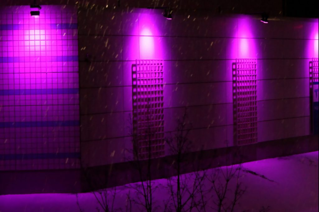 Why Are There So Many Purple & Blue Streetlights In Charlotte?