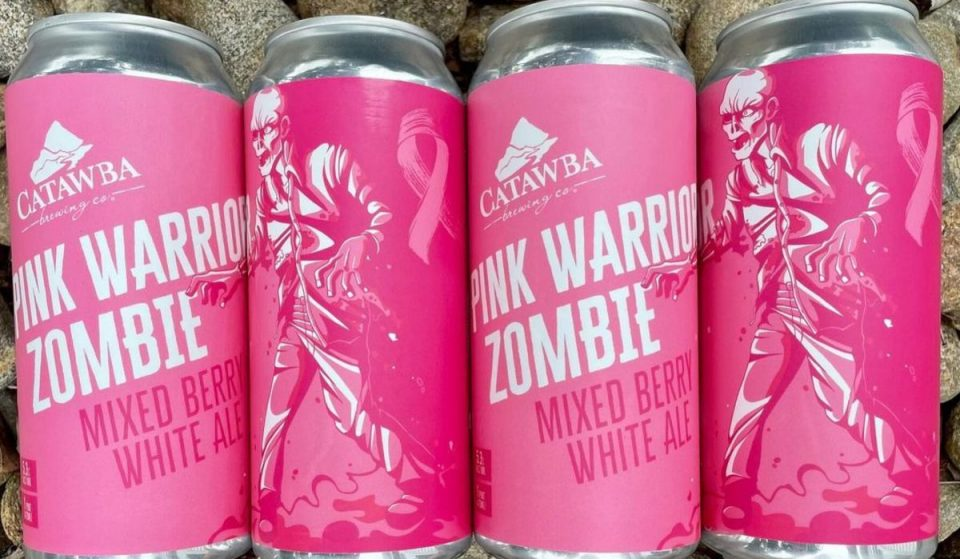Drink Pink At Catawba Brewery As They Celebrate Breast Cancer Awareness Month With A Beer Release