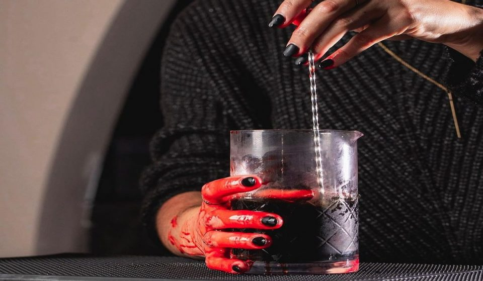 Check Out This Upscale Cocktail Bar If You're Looking For Halloween-Themed Drinks In Charlotte